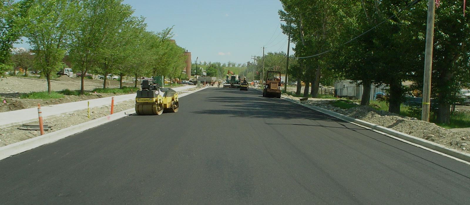 Paving Roadway